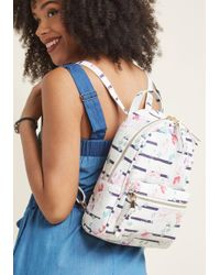 ModCloth - Search High And Stow Mini Backpack - Lyst