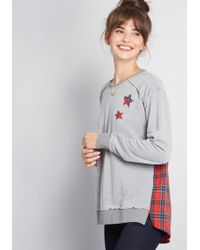 ModCloth - Destined For Respite Twofer Knit Top - Lyst