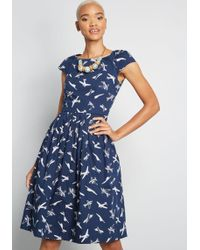 Emily and Fin - Unmatched Panache Midi Dress - Lyst