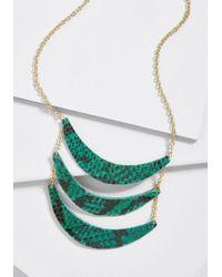 ModCloth - Bountiful Boldness Statement Necklace - Lyst