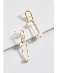 ModCloth - Link Positively Earrings - Lyst