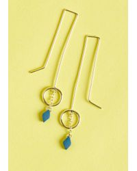 Mata Traders - Move Toward Minimalist Earrings By From Modcloth - Lyst