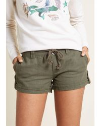 ModCloth - Round-trip Relaxation Shorts - Lyst