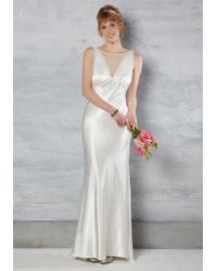 Marina - May I Have This Radiance? Dress In Ivory - Lyst