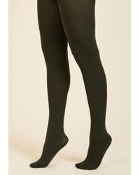 ModCloth - Accent Your Ensemble Tights - Lyst