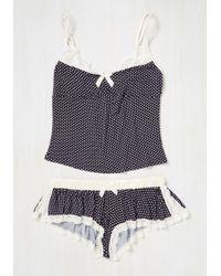 Leg Avenue - Designated Dreamer Pajamas - Lyst