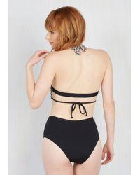 The Bikini Lab - Monokini Queen One-piece Swimsuit - Lyst