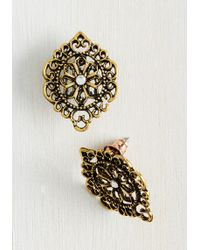 c.A.K.e. By Ali Khan - Artful Antiquing Earrings - Lyst