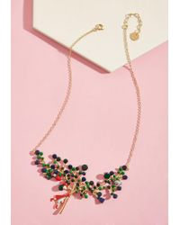 Les Nereides - Little Red Radiance Statement Necklace - Lyst