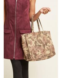 ModCloth - Necessary Refresh Suede Tote Bag - Lyst