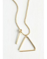 ModCloth - Posh Percussionist Necklace - Lyst