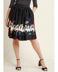 Collectif - Maestro Of None A-line Skirt - Lyst