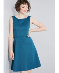 bde921b4b34 ModCloth - Sixties Signature A-line Dress - Lyst