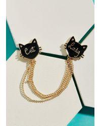 ModCloth | Madame Meow Collar Pin | Lyst
