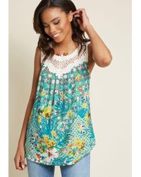 ModCloth - Always The Fun One Top - Lyst