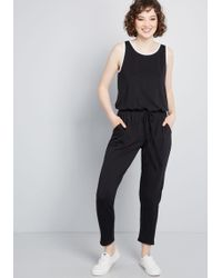 426a02d72c7 ModCloth - Highlighted Look Knit Jumpsuit - Lyst