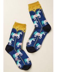 ModCloth   Horsing Around And Around Socks   Lyst