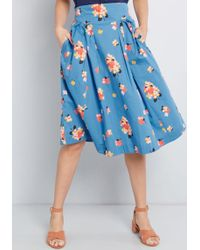 Emily and Fin - Far-out And Fabulous Midi Skirt - Lyst