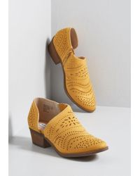 ModCloth - Engineering Ensembles D'orsay Bootie - Lyst