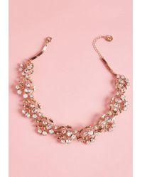 ModCloth - Glam Of Thrones Necklace - Lyst