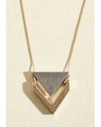 ModCloth - Two The Point Necklace - Lyst