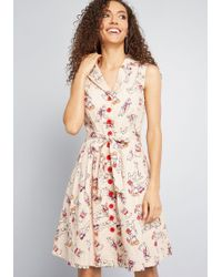 4ae6b4bb2fd Lyst - ModCloth Brunch At Home Maxi Dress In Navy in Blue
