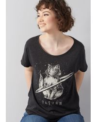 ModCloth - Cat's Outta This World T-shirt - Lyst