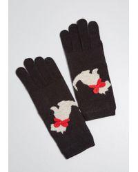 ModCloth - On Your Bark Scottie Gloves - Lyst