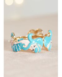 Irregular Choice - Deep Sea Darling Bracelet By From Modcloth - Lyst