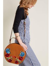 ModCloth - Brilliance In Bloom Embroidered Bag - Lyst