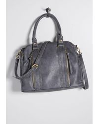 ModCloth - Sectioned Excellence Shoulder Bag - Lyst