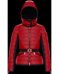 moncler andradite red