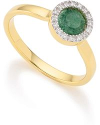 Monica Vinader - Naida Mini Circle Ring - Lyst