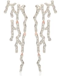 Monica Vinader - Riva Waterfall Cocktail Diamond Earrings - Lyst