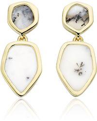 Monica Vinader - Atlantis Cocktail Earrings - Lyst