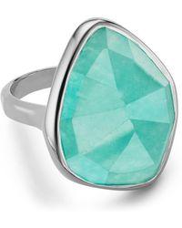 Monica Vinader - Siren Nugget Semiprecious Stone Cocktail Ring - Lyst
