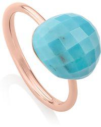 Monica Vinader - Nura Large Pebble Ring - Lyst