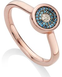 Monica Vinader - Evil Eye Ring - Lyst