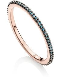 Monica Vinader - Skinny Eternity Ring - Lyst