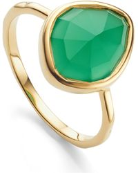 Monica Vinader - Siren Small Nugget Stacking Ring - Lyst
