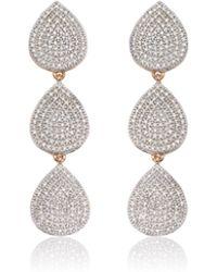 Monica Vinader - Alma Cocktail Earrings - Lyst