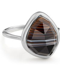 Monica Vinader - Siren Nugget Stacking Ring - Lyst