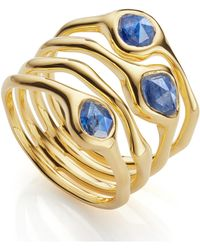 Monica Vinader - Siren Cluster Cocktail Ring - Lyst