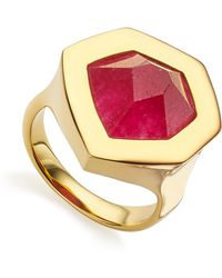 Monica Vinader - Petra Cocktail Ring - Lyst