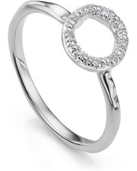 Monica Vinader Riva Mini Circle Stacking Ring