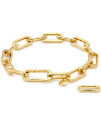 Monica Vinader - Alta Capture Charm Bracelet - Lyst