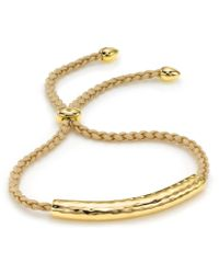 Monica Vinader | Esencia Friendship Bracelet | Lyst