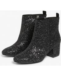 0ea3377dae57 Hush Puppies Lonna Zippered Knee-high Boots in Black - Lyst