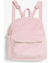 Monki - Corduroy Backpack - Lyst