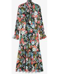 Monki - Flounce Dress - Lyst